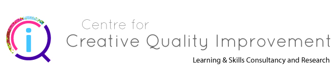 Centre for Creative Quality Improvement Logo - Click here to go to the homepage