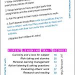 Match comments to work - Card 14