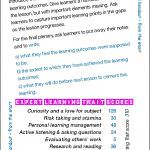 Gapped handout - from the start - Card 16