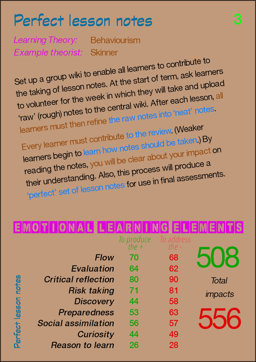 03 Perfect lesson notes